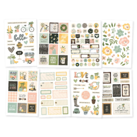 Spring Farmhouse 4x6 Stickers - Unit of 3