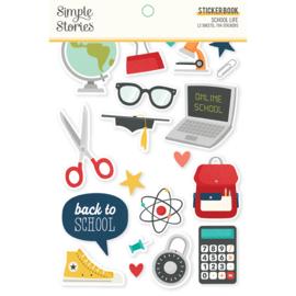 School Life - Sticker Book - Unit of 3