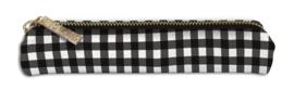 Slim Pencil Case Buffalo Check- Unit of 1