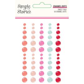 Sweet Talk - Enamel Dots- Unit of 3