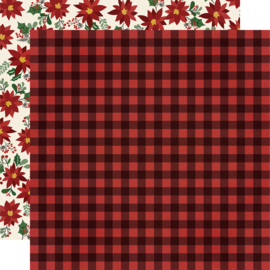 "Jingle All the Way - Warm Winter Wishes Double Sided 12x12"" - Unit of 5"