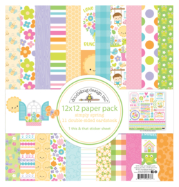Simply Spring 12x12 Paperpack - Unit of 1