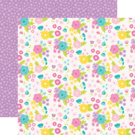 """Magical Birthday  Birthday Girl Double Sided 12x12"""" - Unit of 5"""