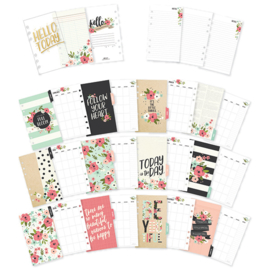 Personal Bloom Monthly Planner Inserts- Unit of 3