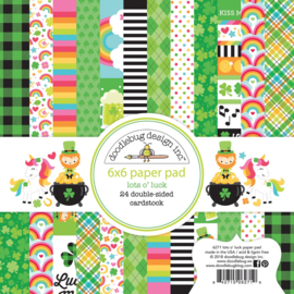 Lots o' Luck  6x6 Paperpad - Unit of 3
