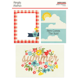 Summer Farmhouse SN@P! Cards- Unit of 3