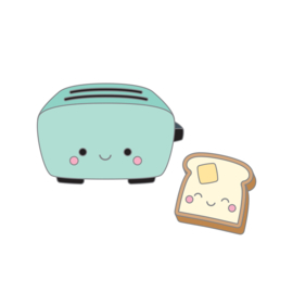 Toaster Time Collectible Pin - Unit of 1