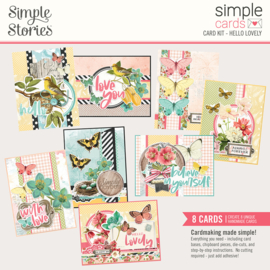 Simple Cards Card Kit - Hello Lovely - Unit of 3