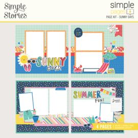 Simple Pages Page Kit - SK Sunny Days - Unit of 3