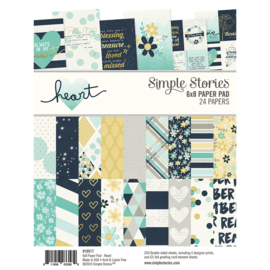 Heart 6x8 Pad - Unit of 3