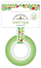 Boughs of Holly Washi Tape - Unit of 3