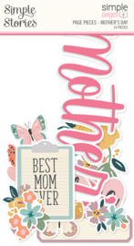 Simple Pages Page Pieces - Mother's Day - unit of 6