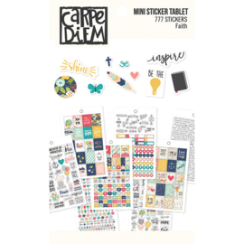 Faith Mini Sticker Tablet - Unit of 3