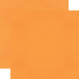 "Orange Textured Cardstock Double Sided 12x12"" - Unit of 5"