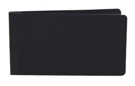 4x6 SN@P! Flipbook - Black - unit of 3