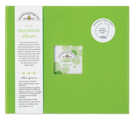 Limeade Storybook Album 12x12 - Unit of 1