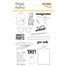School Life - Stamps - Unit of 2