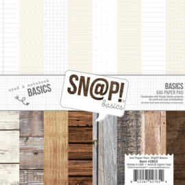 Sn@p Basics 6x6 Paperpack - Unit of 3