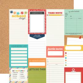 School Life - Journal Elements - Unit of 5