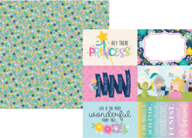 "Little Princess 4x6 Elements Double Sided 12x12"" - Unit of 5"