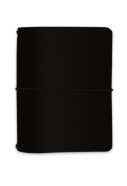 A6 Traveler Notebook Black - Unit of 1