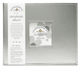 Silver Storybook Album 8x8 - Unit of 1