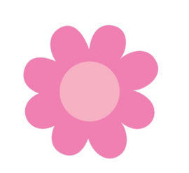 Blossoms Sweet Rolls Mini Icon Stickers - Unit of 3