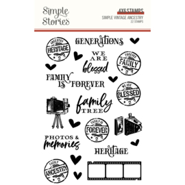 SV Ancestry - Stamps - Unit of 2