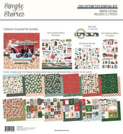 Winter Cottage Collectors Essentials kit - unit of 1
