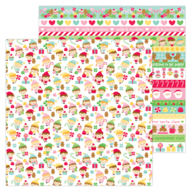 """Little Helpers 12x12"""" Double Sided 12x12""""  - Unit of 5"""