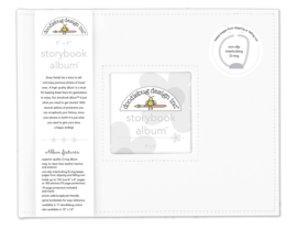 Lily White Storybook Album 8x8 - Unit of 1