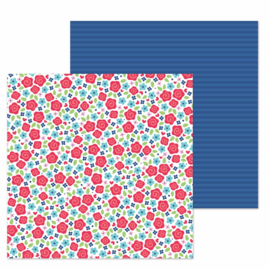 "Just Rosey Double Sided 12x12""  - Unit of 5"
