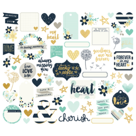 Heart Bits & Pieces - Unit of 3