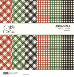 Jingle All the Way - 12x12 Basics Kit - unit of 3