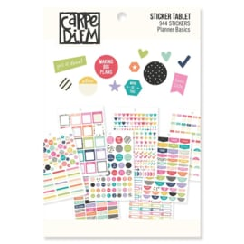A5 Planner Basics Sticker Tablet - Unit of 3