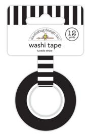 Tuxedo Stripe Washi Tape - Unit of 3