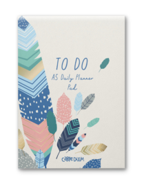 Daily Planner Pad Feathers - Unit of 1