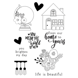 So Happy Together 4x6 Stamps - Unit of 2