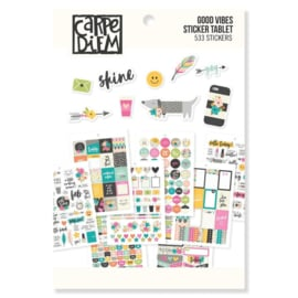 Good Vibes Sticker Tablet - Unit of 3
