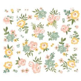 Spring Farmhouse Floral Bits & Pieces - Unit of 3