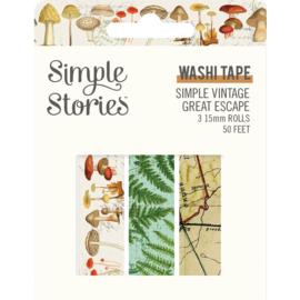 SV Great Escape Washi Tape - Unit of 3