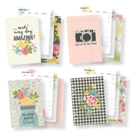 A5 Hello Monthly Planner Inserts- Unit of 3