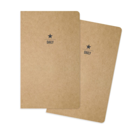 Daily Traveler's Notebook Inserts- Unit of 3