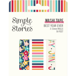 Best Year Ever Washi Tape - Unit of 3