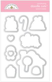 Santa's Sweets Doodle Cuts - unit of 1