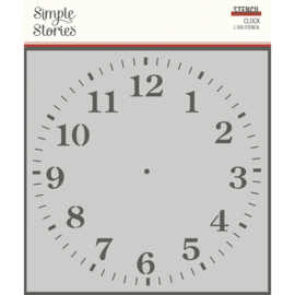 SV Ancestry - 6x6 Stencil - Clock - Unit of 3