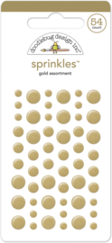 Gold Sprinkles - Unit of 3