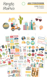 Going Places Sticker Book - Unit of 3