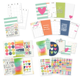 Fitness Collection - A5 Planner Insert- Unit of 1