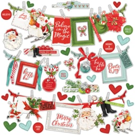 SV North Pole - Banner Stickers - unit of 3